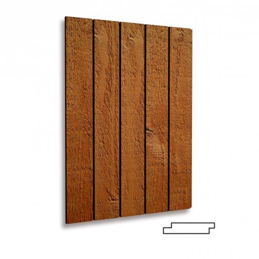 VERTIKALIOS, 20x96/120/145mm, AB (iki 5%C kat.), rusiška eglė, šiurkštus pav., dažytos TEKNOS TM1715
