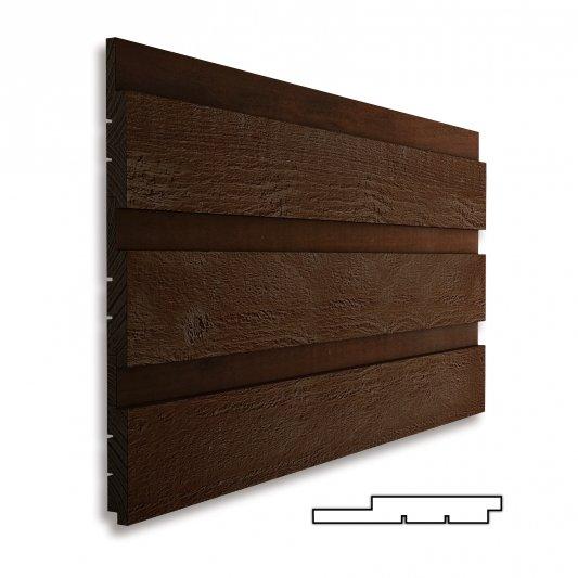 HORIZONTALIOS, 20x146mm (25mm tarpas), AB (iki 5%C kat.), rusiška eglė, šiurkštus pav., dažytos TEKNOS TM1704